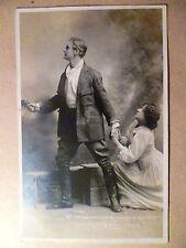 WW1 Theater Postkarte Charles fancourt & Ruth shepnerd-die Shulamite