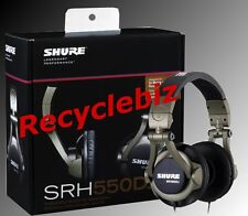 Shure SRH550DJ NEW IN BOX Professional DJ Headphones IN STOCK Free Shipping