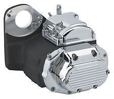 Ultima Black 6-speed Left Side Drive Transmission for 91-99 Softail and Custom