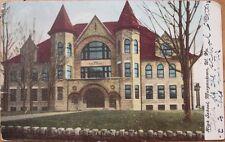 1910 Postcard: 'High School - Morgantown, West Virginia WV'