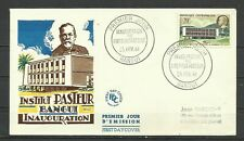 Central Africa 1961 - Architecture,Pasteur, FDC