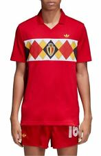 adidas MENS Original Belgium 1984 Soccer Jersey - VICTORYRED - MEDIUM- BRAND NEW
