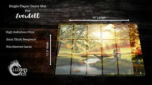 Custom made game mat compatible with Everdell board game