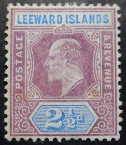 Leeward Is. Scott # 32, Mint Original Gum (HR)