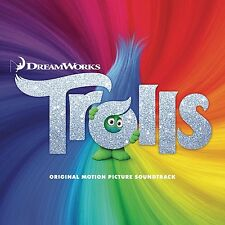 Trolls - Dreamworks 2016 Soundtrack - CD NEW & SEALED   Movie / Film / Ost