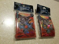 DRAGONS EYE 100 NEO Max Protection Gaming Sleeves Lot of 2 Sealed Packages