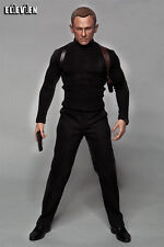 Eleven 1/6 Scale 007 Spectre Daniel Craig Costume Set For Hot Toys Figure Body