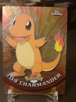 2000 TOPPS Chrome Charmander Pokemon Card Holo Foil #4 Mint  Owned Since New