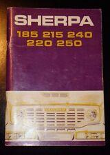 Leyland Sherpa 185 215 240 220 250 drivers handbook  6th edition