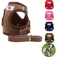 Non Pull Dog Harness Adjustable Soft Padded Vest Small Medium Mesh Jacket XS -XL