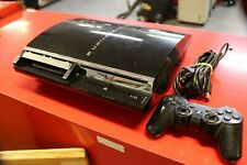 Sony PlayStation PS3 - 60GB Backwards PS2 Compatible CECHE-01 Console WORKING!