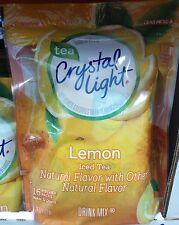 Crystal Light Natural Lemon Iced Tea Pitcher Packs 2 pk 32 packs Makes 64 quarts
