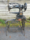Singer Sewing Machine 29-4 Leather ANTIQUE