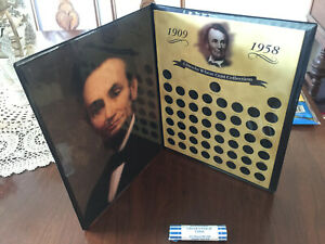 Lincoln Wheat Cent Collection 1909 – 1958 including 1909 V.D.B. in original case