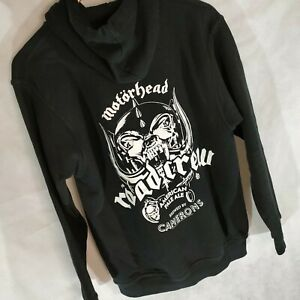 Motorhead Road Crew Hoodie Camerons Pale Ale Official Size S Black Pullover