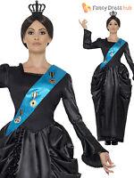 Adult Ladies Deluxe Queen Victoria Costume Victorian Royal Monarch Fancy Dress