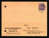 Germany 1946 Card w/ 6Pf Robwein CDS - Z15648