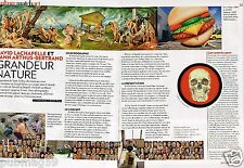 Coupure de Presse Clipping 2009 (2 pages) David Lachapelle Yann Athus Bertrand