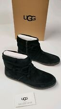 UGG Australia Reid Black Ankle Boot Women's size 8.5 NEW/ Ships with box