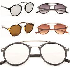 Vintage oval runde Gläser P3 Qualität Sonnenbrille Herren Damen Quersteg plzYbM96b