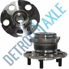 Set of (2) New REAR Complete Wheel Hub and Bearing Assembly for Honda CR-V Acura