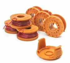 Replacement Grass Trimmer Spool 10ft Caps Line Weed Eater For Worx Wa0010 M Tl04