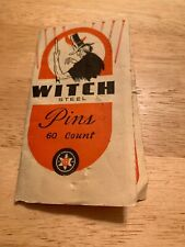 Halloween Witch Pins On Card Great Graphics