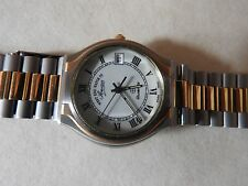 NEW OLD STOCK VINTAGE WEST END WATCH CO SOWAR QUARTZ WATCH  FACETED CRYSTAL