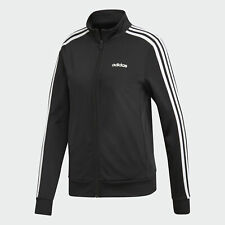 adidas Women's Essentials 3-stripes Tricot Track Jacket Sz M