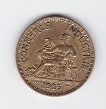 1925 France 2 Francs Chambres DE Commerce Industrie Coin Bon Pour B-2