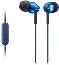 SONY MDREX110AL Headphones Wired In Ear W/Mic Blue