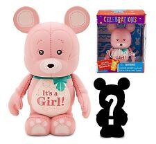 Disney Vinylmation Celebrations Series It's A Girl 3'' Figure + Mystery Junior