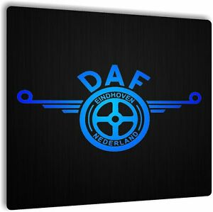 12v/24v Cabin Interior LED Light Plate DAF logo Truck  Board 50x50
