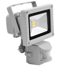 Eurolite LED IP FL-10 COB Tageslicht 550 Lm 10w LED Baustrahler Bewegungsmelder