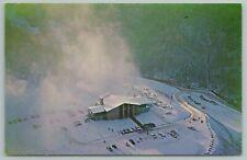 Gatlinburg Tennessee~Ski Resort Snow Making Machines~Vintage Postcard
