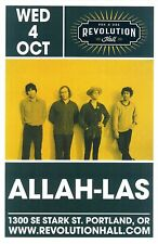 Allah-Las 2017 Gig Poster Portland Oregon Concert