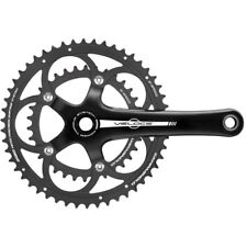 New Campagnolo Veloce Black 10 Speed 34/50 Crankset 170mm