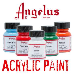 Angelus Acrylic paints - HUGE color range - AU SELLER - Fast Dispatch !!