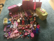 Grosse umfangreiche Barbie Ken Sammlung Konvolut Paket mit viel Zubehör Möbel