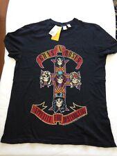 H&M Licensed GUNS N ROSES Apetite For Destruction T-Shirts NEW XS, S, M, L, XL