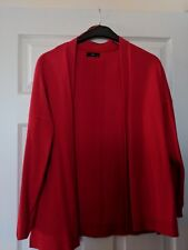M&Co red cardigan size 14 excellent condition