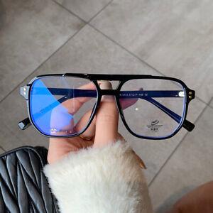 2021 TR90 Blue Light Blocking Computer Glasses Men Anti Eyestrain Eyewear Women