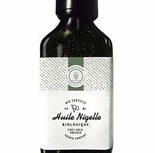 Huile de Nigelle BIO Pressée à froid, Pure, Cumin noir - 100% Naturelle, culti