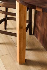870mm Solid Oak Oiled Breakfast Bar Worktop Support Table Leg 80 mm Diameter