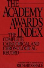 The Academy Awards Index : AUTOGRAPHED by Author!