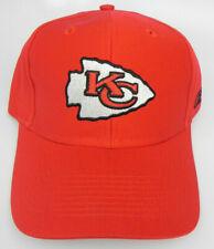 KANSAS CITY CHIEFS NFL REEBOK RED ADJUSTABLE STRAPBACK VINTAGE CAP HAT NEW!