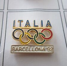 1992 BARCELONA Olympics ITALIA ITALY NOC original Bertoni pouch pin badge