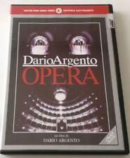 OPERA FILM DVD DARIO ARGENTO ITALIANO CECCHI GORI SPED GRATIS SU + ACQUISTI