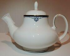 Royal Doulton Princeton Teapot White And Blue H5098