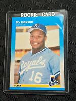 1986 Bo Jackson 369 Fleer Rookie Mint Baseball Card MLB